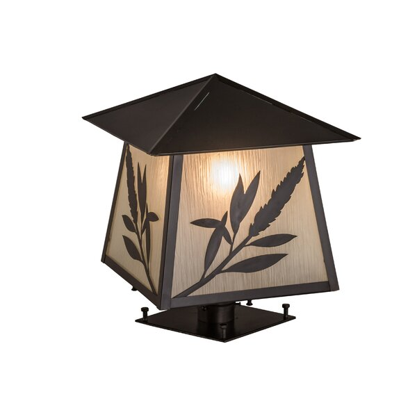 Greenbriar Oak 1-Light Pier Mount Light by Meyda Tiffany