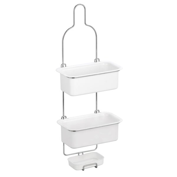 Burrell 3 Tier Baskets Shower Caddy by Rebrilliant