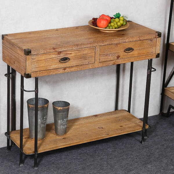 Marshfield Console Table by Union Rustic