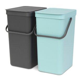 Abfallsammler Farbe Violett Grau
