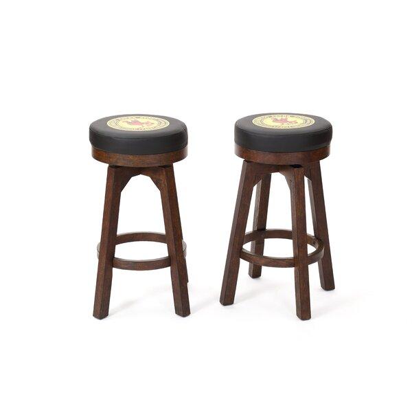 Guinness 30 Swivel Bar Stool (Set of 2) by ECI Furniture