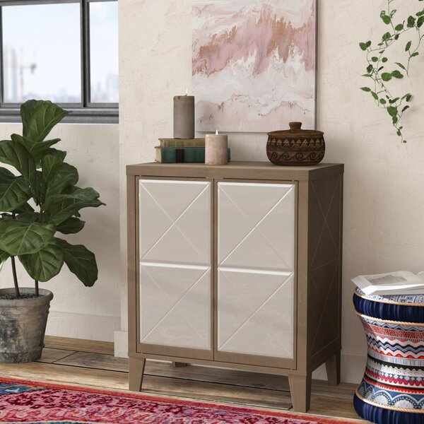 Wessel 2 Door Accent Cabinet by House of Hampton House of Hampton