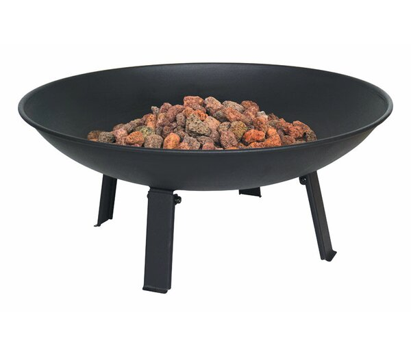 Campfire Propane Steel Fire Pit by Bond Manufacturing
