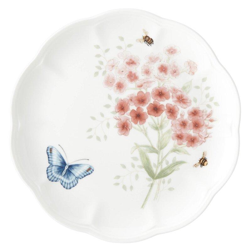 Butterfly Meadow Flutter Red Poll Finch 9\  Dinner Plate  sc 1 st  Wayfair & Lenox Butterfly Meadow Flutter Red Poll Finch 9\
