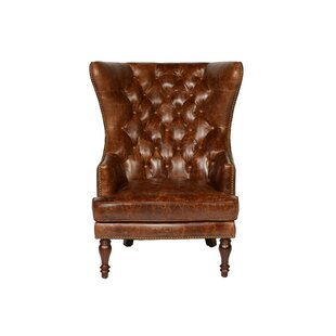 Merveilleux Wingback Leather Chairs Youu0027ll Love | Wayfair