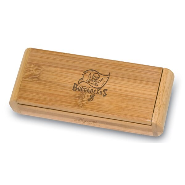 NFL Elan Bamboo Engraved Corkscrew in a Box by LEGACY