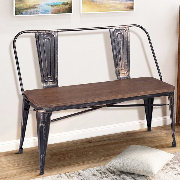 Val Park bench by Williston Forge