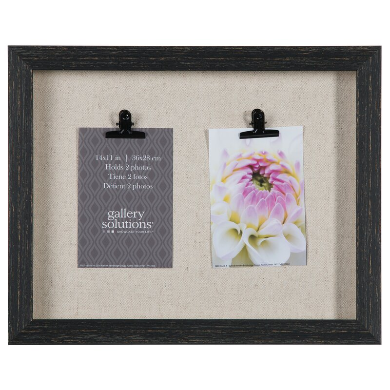 Charlton Home 2 Clip Collage Picture Frame   Wayfair