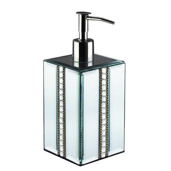 Charboneau Chain Mirror Lotion Dispenser by House of Hampton