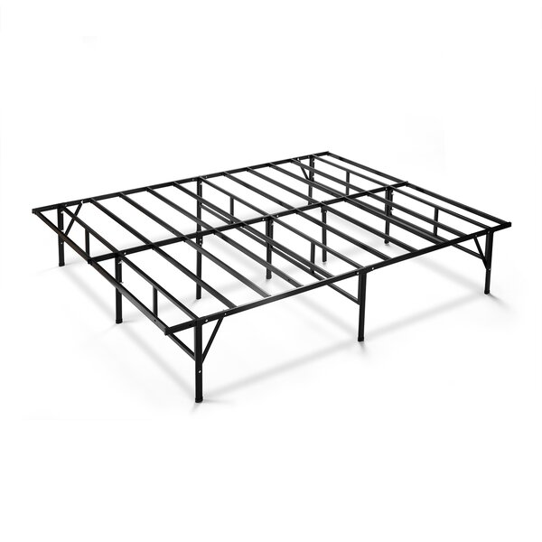 Higbee Easy to Assemble Smartbase Bed Frame by Alwyn Home