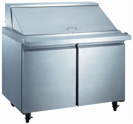 Commercial Food Prepare Table 15.1 cu. ft. Energy Star Counter Depth All-Refrigerator by EQ Kitchen Line