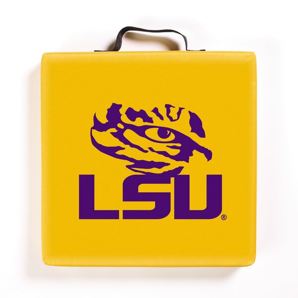 NCAA LSU Tigers Indoor/Outdoor Bench Cushion by BSI Products