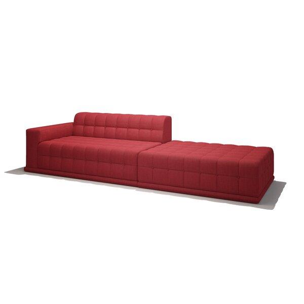 Bump Bump Sofa with Chaise by TrueModern