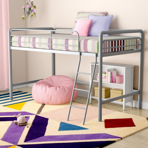 Charla Junior Twin Low Loft Bed By Viv + Rae by Viv + Rae 2020 Coupon