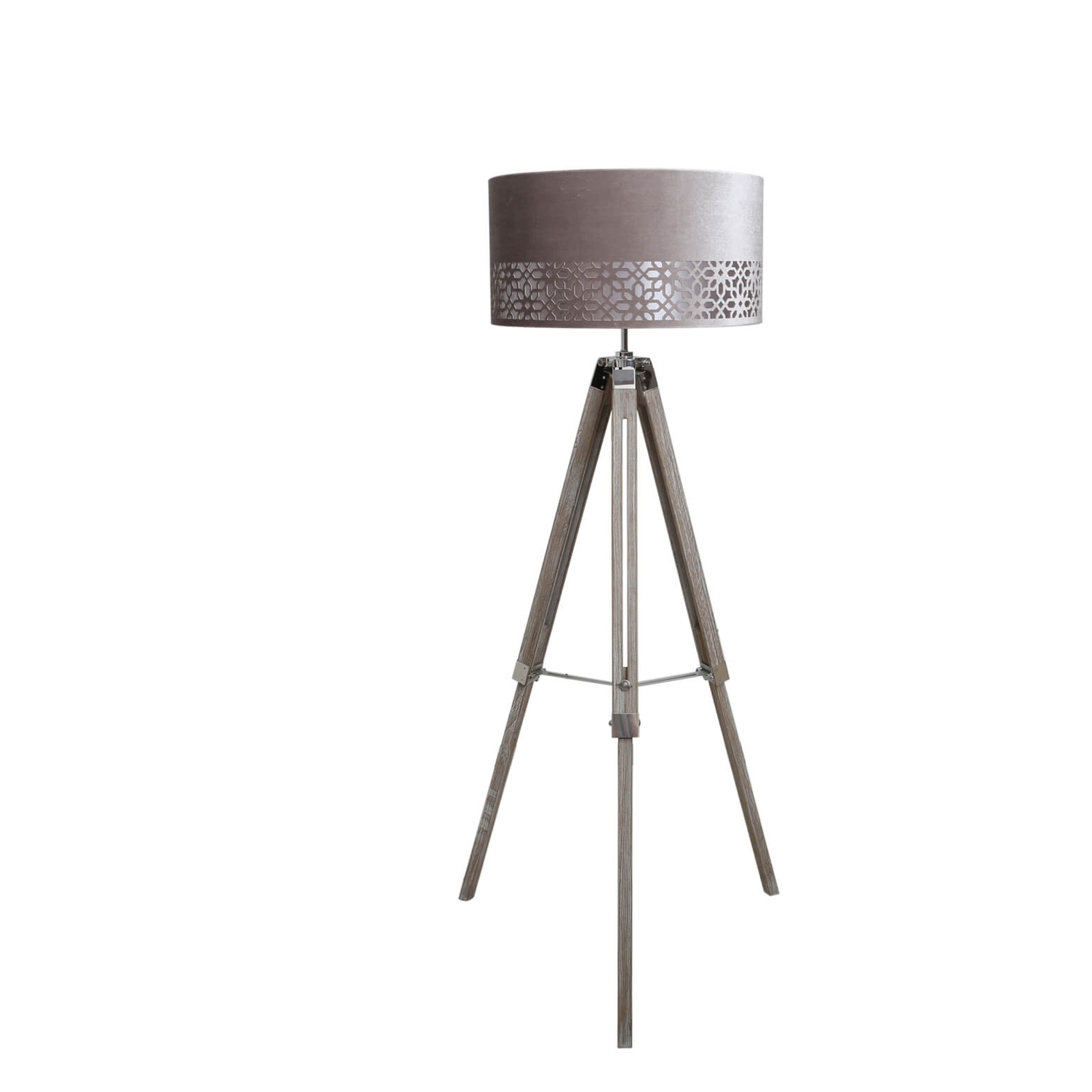 Williston Forge 142 Cm Tripod Stehlampe Heather Wayfair De