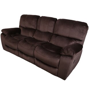 Reviews Carraton 3 Seats Reclining Sofa By Three Posts