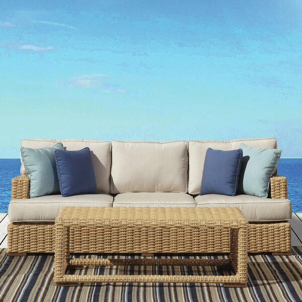 Leucadia Sofa with Cushions by Sunset West