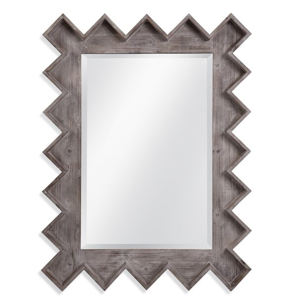 Petrey Wall Accent Mirror by World Menagerie
