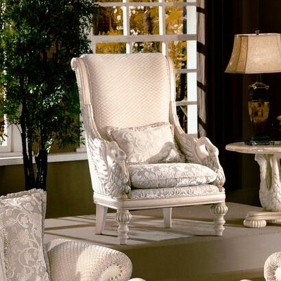 Avignon Swan Armchair by Wildon Home ®