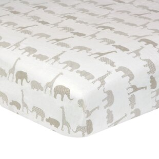 Order Fairbury Antique Safari Fitted Crib Sheet By Greyleigh