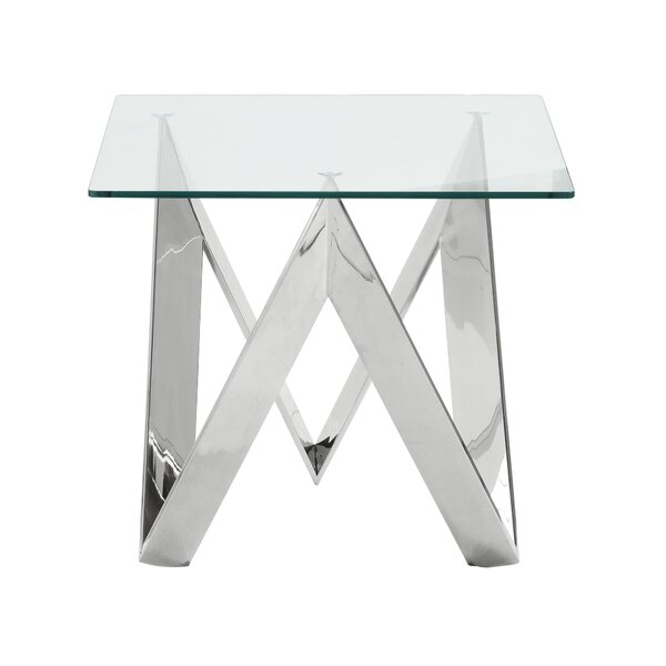 Hummel Square End Table By Orren Ellis
