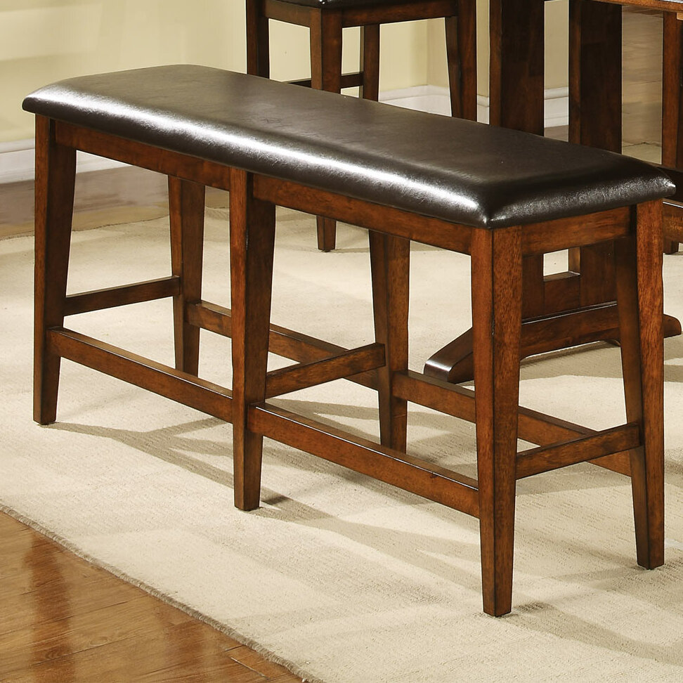 Loon Peak Nashoba Upholstered Bench Reviews Wayfair
