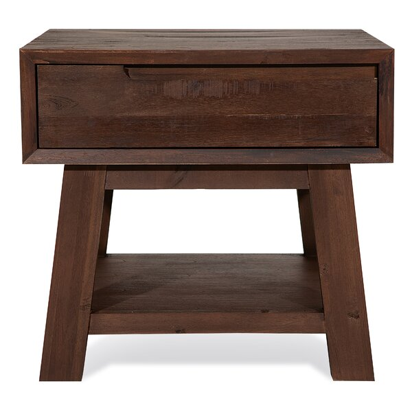 Fabrizia End Table with Storage by Millwood Pines Millwood Pines