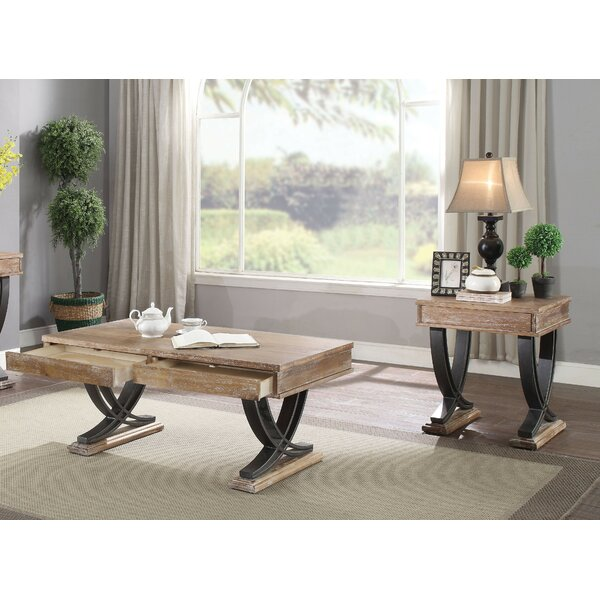Lolotoe Living Room 2 Piece Coffee Table Set by Millwood Pines Millwood Pines