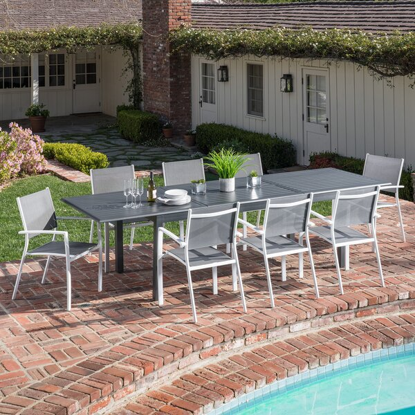 Baysidevillage 9 Piece Dining Set by Latitude Run