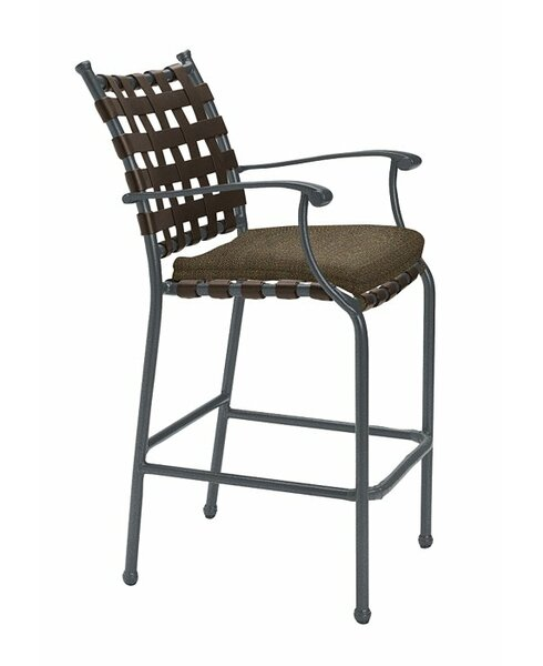 Sorrento 31 Patio Bar Stool with Cushion by Tropitone