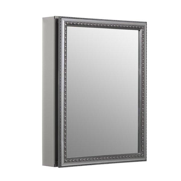 20 x 26 Recessed or Surface Mount Framed Medicine Cabinet with 2 Adjustable Shelves