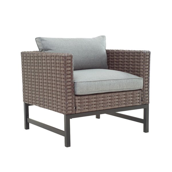 Patio Chair with Cushions by Latitude Run