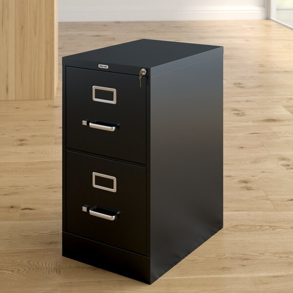 Scalzo 2 Drawer Letter-Size File Cabinet by Latitude Run