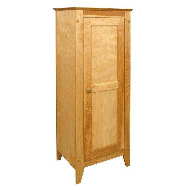 Hwan Hardwood Flat Panel 1 Door Accent Cabinet by Winston Porter Winston Porter