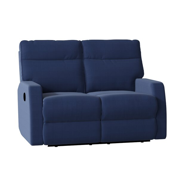 Vance Reclining Loveseat by Wayfair Custom Upholstery™