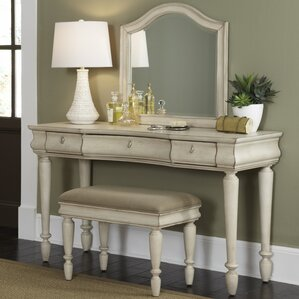 Vanity Set with Mirror by Liberty Furn..
