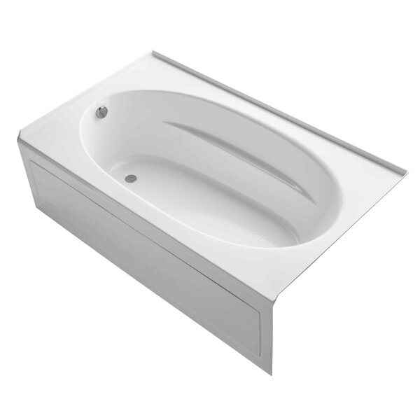 Windward Alcove 72 x 42 Soaking Bathtub by Kohler