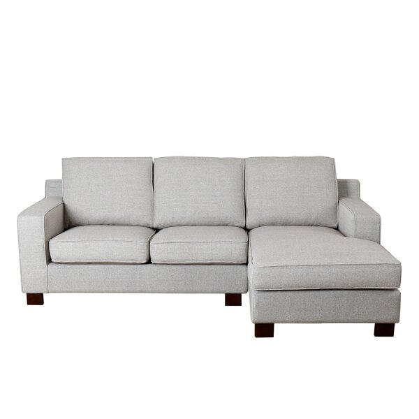 Huckaby Blaxlands 145-inch Right Hand Facing Sectional by Laurel Foundry Modern Farmhouse Laurel Foundry Modern Farmhouse