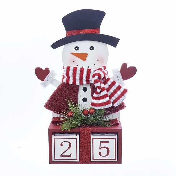 Countdown to Christmas Snowman Advent Calendar by Kurt Adler