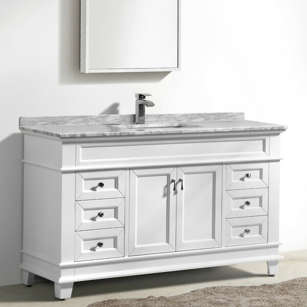 Bryton 59 Single Bathroom Vanity Set by Charlton Home