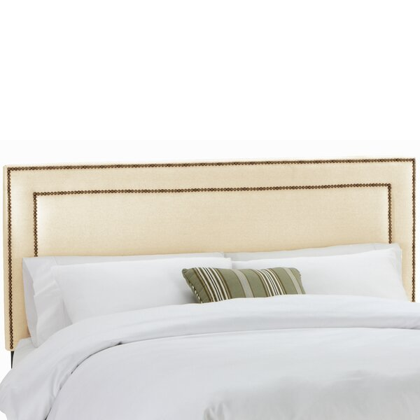 Alligood Nail Button Border Upholstered Panel Headboard by Willa Arlo Interiors