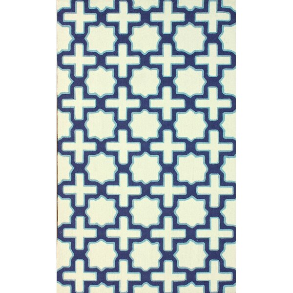 Stafford Hand Hooked Ivory Area Rug by Latitude Run