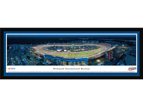 NASCAR Richmond International Raceway by James Blakeway Framed Photographic Print by Blakeway Worldwide Panoramas, Inc