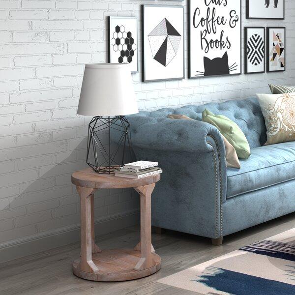 Kachazun Solid Wood Floor Shelf Coffee Table With Storage By Gracie Oaks