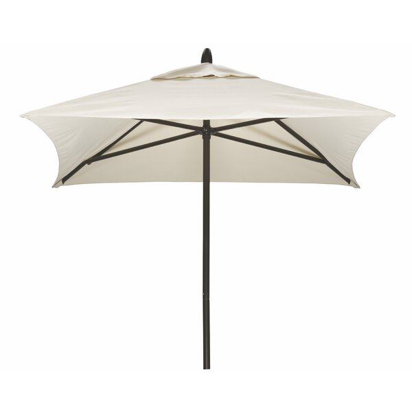 Commercial 6' Square Market Umbrella by Telescope Casual