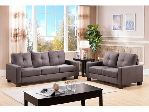 Modern Collection Loveseat by Wildon Home by Wildon Home�