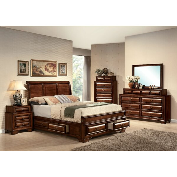 Mcnair Sleigh Configurable Bedroom Set by Canora Grey