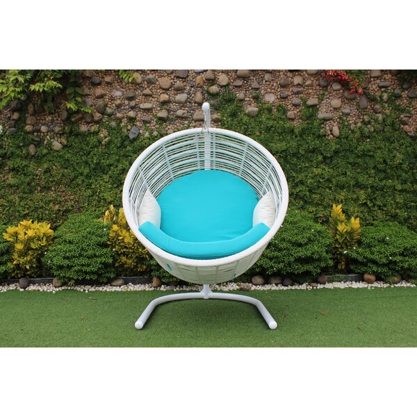 Cade Outdoor Swing Chair by Bungalow Rose Bungalow Rose