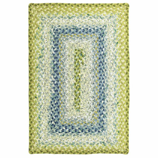 Cotton Braided Seascape Area Rug by Homespice Decor