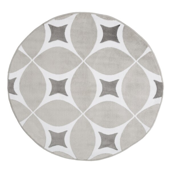 Julian Gray/White Area Rug by Zipcode Design